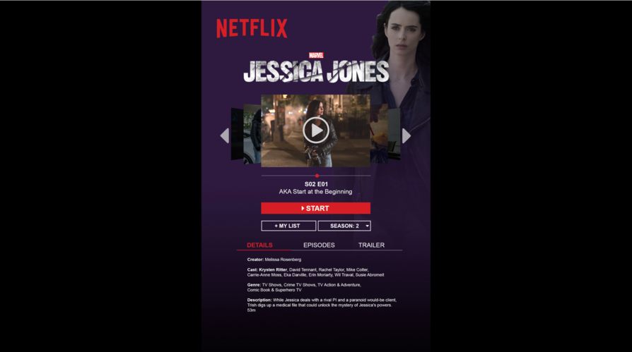 Netflix Redesign Project
